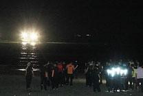 사설 해병대 캠프서 고교생 5명 파도 휩쓸려 실종